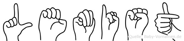 Lemist in Fingersprache für Gehörlose
