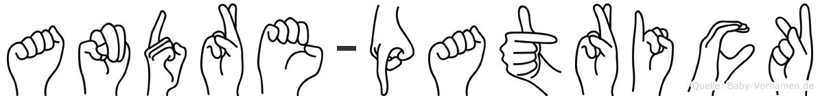 Andre-Patrick im Fingeralphabet der Deutschen Gebärdensprache