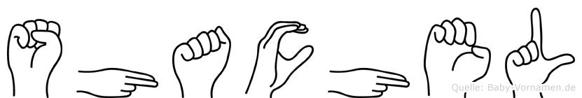 Shachel in Fingersprache für Gehörlose