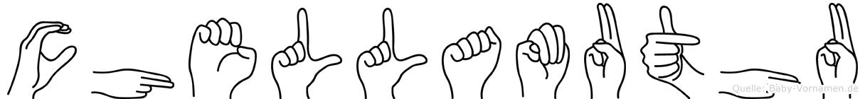 Chellamuthu in Fingersprache f�r Geh�rlose
