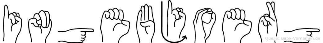 Ingebjoerg in Fingersprache für Gehörlose