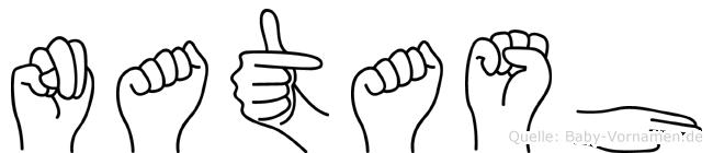 Natash in Fingersprache für Gehörlose
