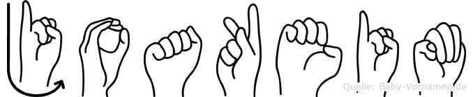 Joakeim in Fingersprache für Gehörlose
