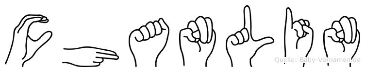Chanlin in Fingersprache für Gehörlose