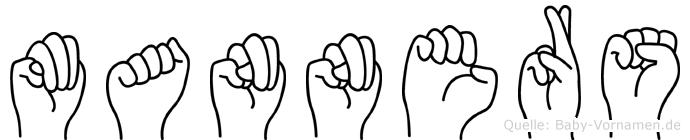 Manners in Fingersprache für Gehörlose