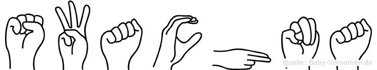 Swachna in Fingersprache für Gehörlose