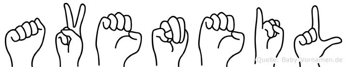 Aveneil in Fingersprache für Gehörlose