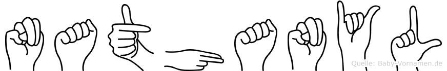 Nathanyl in Fingersprache für Gehörlose