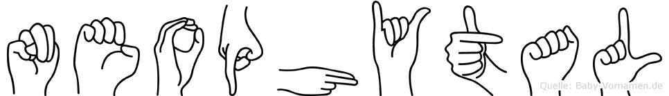 Neophytal in Fingersprache für Gehörlose