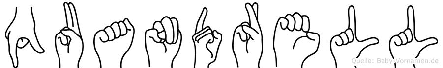Quandrell in Fingersprache für Gehörlose