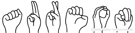 Aureon in Fingersprache für Gehörlose
