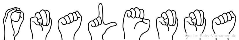 Onalenna in Fingersprache für Gehörlose