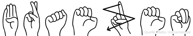 Braezen in Fingersprache für Gehörlose