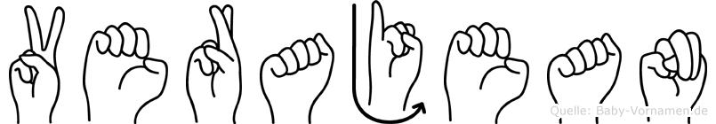 Verajean in Fingersprache für Gehörlose