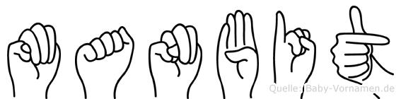 Manbit in Fingersprache für Gehörlose