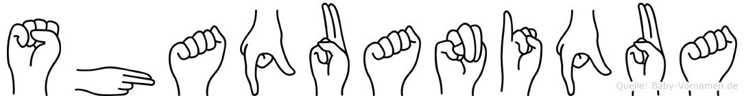 Shaquaniqua in Fingersprache für Gehörlose