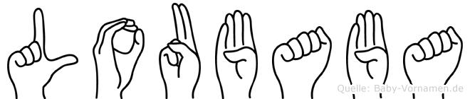 Loubaba in Fingersprache für Gehörlose