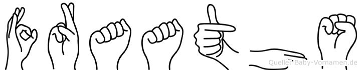 Fraaths in Fingersprache für Gehörlose