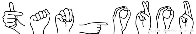 Tangorou in Fingersprache für Gehörlose