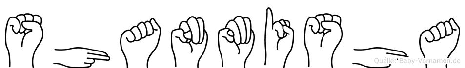 Shanmisha in Fingersprache für Gehörlose