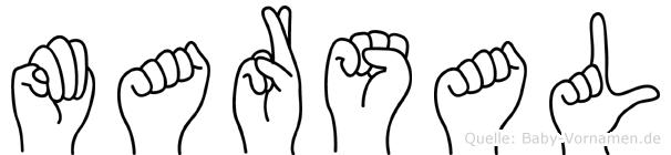 Marsal in Fingersprache für Gehörlose