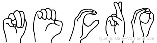 Necro in Fingersprache für Gehörlose