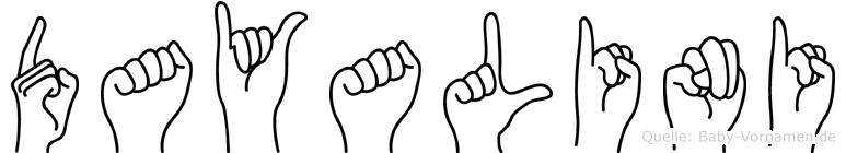 Dayalini in Fingersprache für Gehörlose