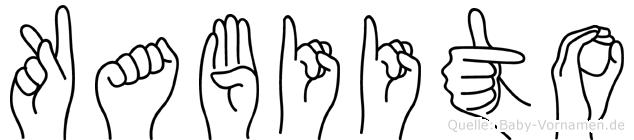 Kabiito in Fingersprache für Gehörlose