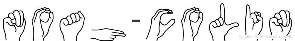 Noah-Colin im Fingeralphabet der Deutschen Gebärdensprache