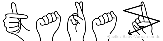 Taraz in Fingersprache f�r Geh�rlose
