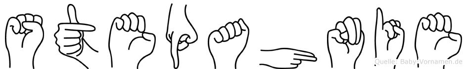 Stepahnie in Fingersprache für Gehörlose