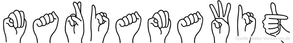 Mariamawit in Fingersprache für Gehörlose