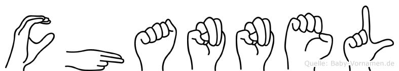 Channel in Fingersprache für Gehörlose