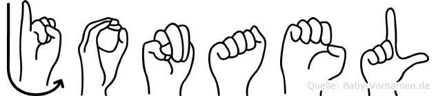 Jonael in Fingersprache für Gehörlose