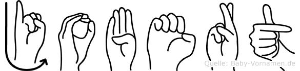 Jobert in Fingersprache für Gehörlose