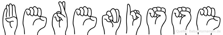 Berenisse in Fingersprache für Gehörlose