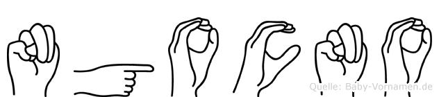 Ngocno in Fingersprache für Gehörlose