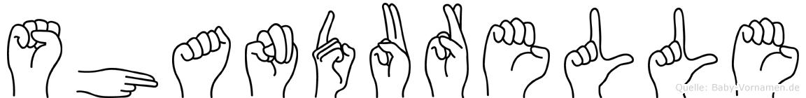 Shandurelle in Fingersprache für Gehörlose