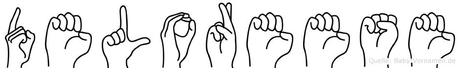 Deloreese in Fingersprache für Gehörlose