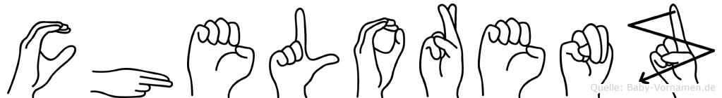 Chelorenz in Fingersprache für Gehörlose
