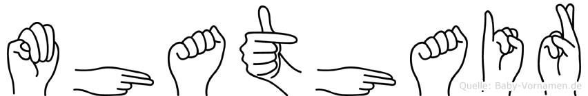 Mhathair in Fingersprache für Gehörlose