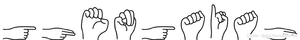Ghengaiah in Fingersprache für Gehörlose