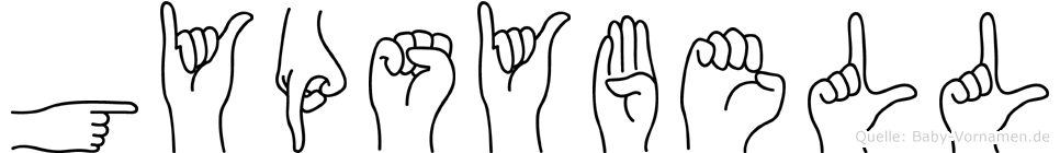 Gypsybell in Fingersprache für Gehörlose