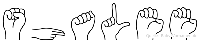 Shalee in Fingersprache für Gehörlose