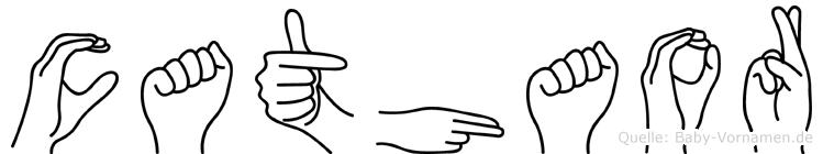 Cathaor in Fingersprache für Gehörlose