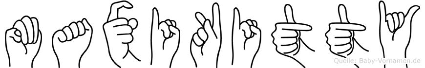 Maxikitty in Fingersprache für Gehörlose