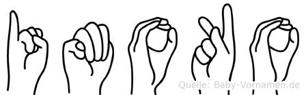 Imoko in Fingersprache für Gehörlose