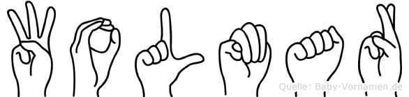 Wolmar in Fingersprache für Gehörlose
