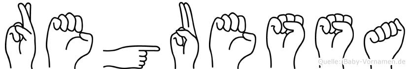 Reguessa in Fingersprache für Gehörlose