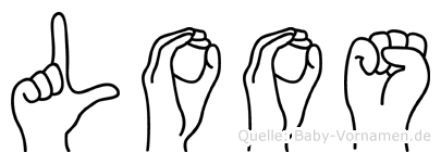 Loos in Fingersprache für Gehörlose
